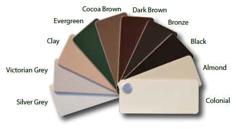 Exterior Custom Colors For Replacement Windows