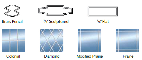 Replacement Windows Grid Options
